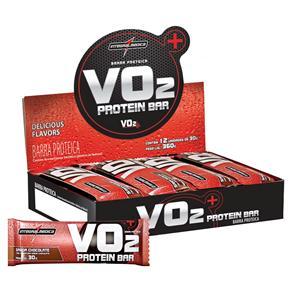 Protein Bar VO2 Integral Médica - 12 Unidades - Chocolate