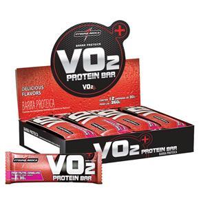 Protein Bar VO2 Integral Médica - 12 Unidades - Frutas Vermelhas