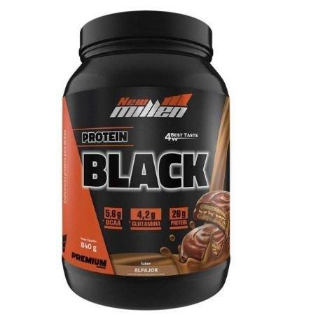 Protein Black 4W (840 G) New Millen