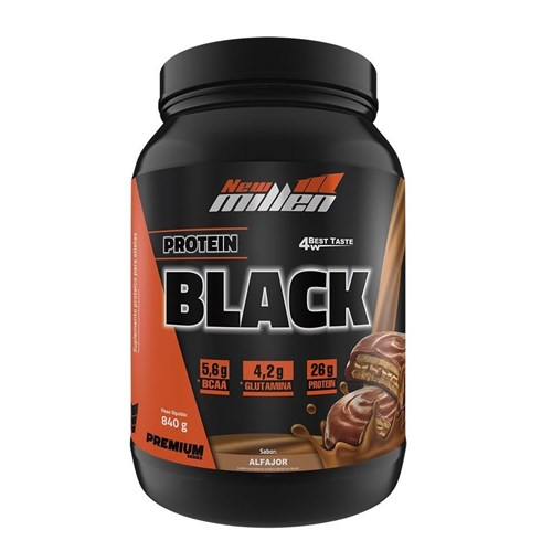 Protein Black 4W 840g - New Millen - Chocolate