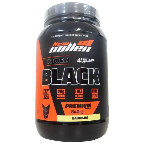 Protein Black 840g Baunilha New Millen