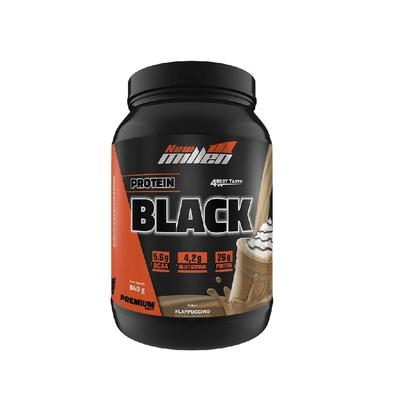 Protein Black 840g New Millen Protein Black 840g Flappuccino New Millen