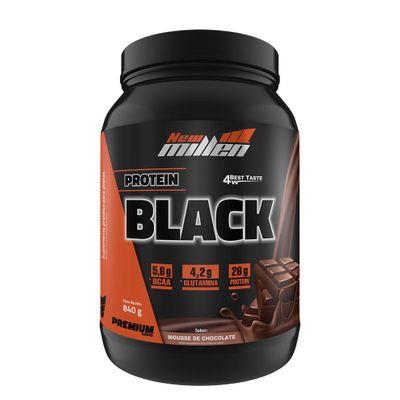 Protein Black 840g New Millen Protein Black 840g Mousse Chocolate New Millen