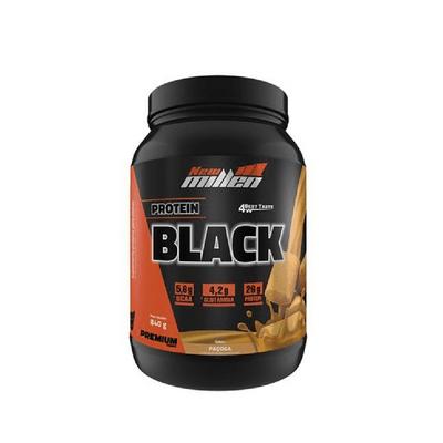 Protein Black 840g New Millen Protein Black 840g Paçoca New Millen