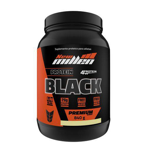Protein Black Paçoca 840g - New Millen