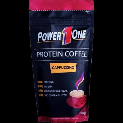 Tudo sobre 'Protein Coffee Cappuccino 100G - Power One'