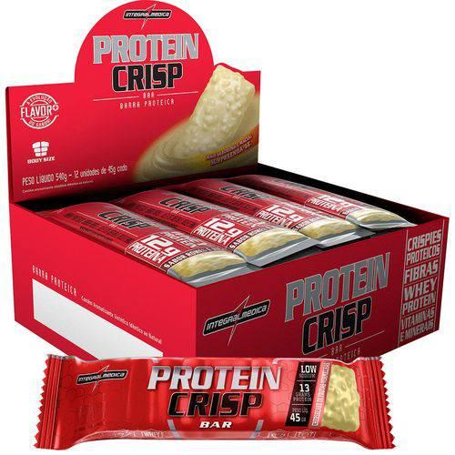 Protein Crisp Bar 12 Barras Frutas Vermelhas - Integr