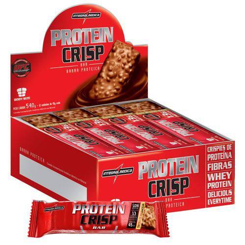 Protein Crisp Bar 12 Barras Maracujá - IntegralMedica