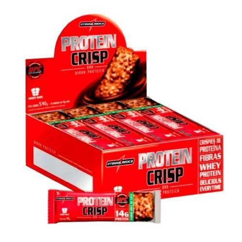 Protein Crisp Bar (Caixa C/ 12 Barras) - Integralmédica