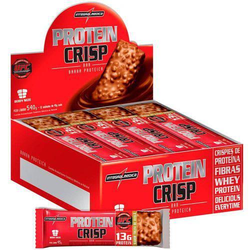 Protein Crisp Bar com 12 Barras Integralmédica