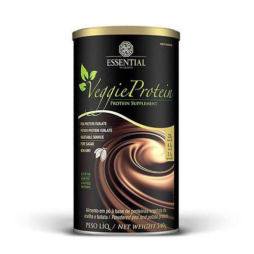 Proteina Vegetariana Veggie Protein Cacao - Essential - 540grs. Chocolate