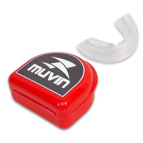 Tudo sobre 'Protetor Bucal Profissional Neutro Muvin'
