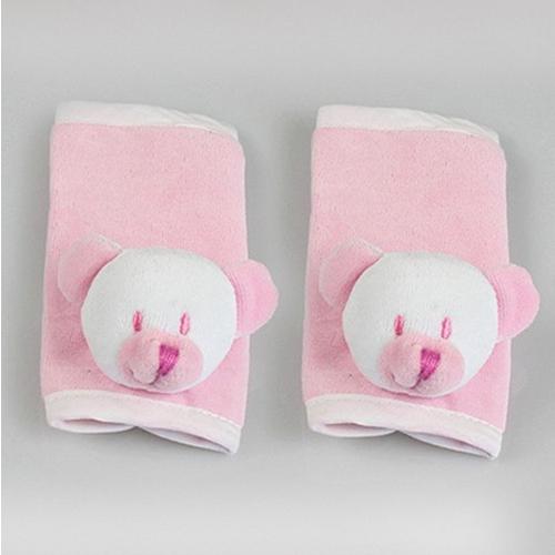 Protetor de Cinto Ursinho Rosa Bebê