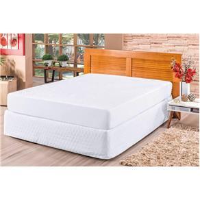 Kit Protetor de Colchão e Travesseiros King Impermeável Branco