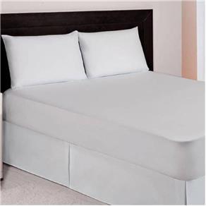 Protetor de Colchão Solteiro Impermeável com Sleep Branco