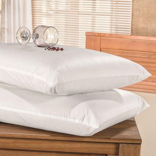 Protetor de Travesseiro Impermeável com Zíper