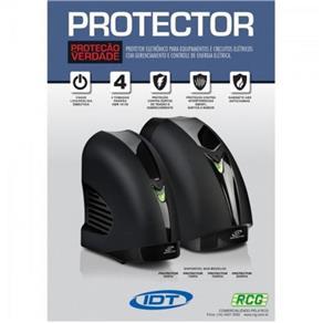 Protetor Eletrônico Mono 750VA 115V Preto IDT