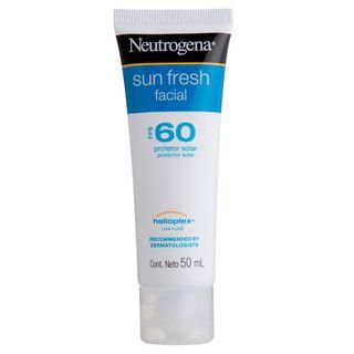 Protetor Facial Neutrogena Sun Fresh FPS60 50ml