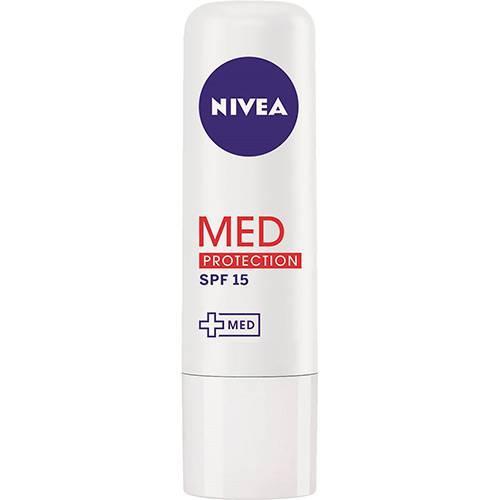 Tudo sobre 'Protetor Labial Nivea Med Protection FPS 15'