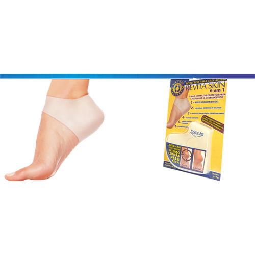 Protetor para Calcanhar Revita Skin 6 em 1 - Ortho Pauher 1102
