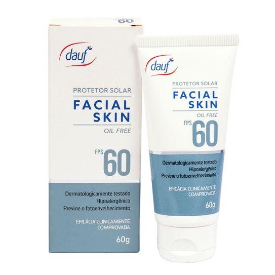 Tudo sobre 'Protetor Solar Dauf Facial Fps60 60g'
