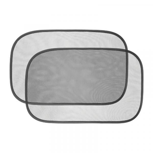 Protetor Solar Duplo para Carro BB076 Preto - Multikids Baby - Multikids