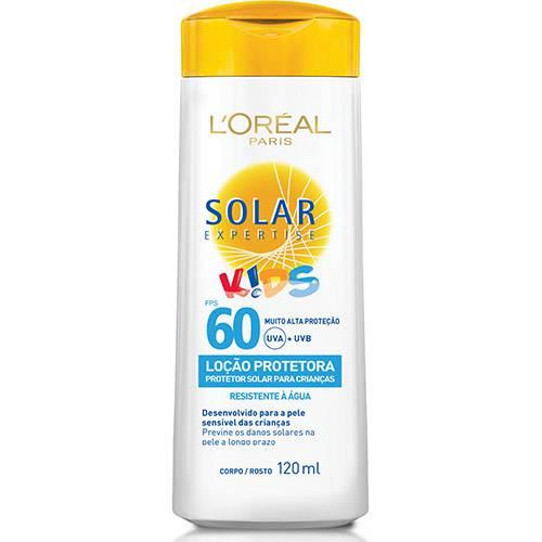 Tudo sobre 'Protetor Solar Expertise Loção Kids FPS 60 120ml - L'Oreal Paris'