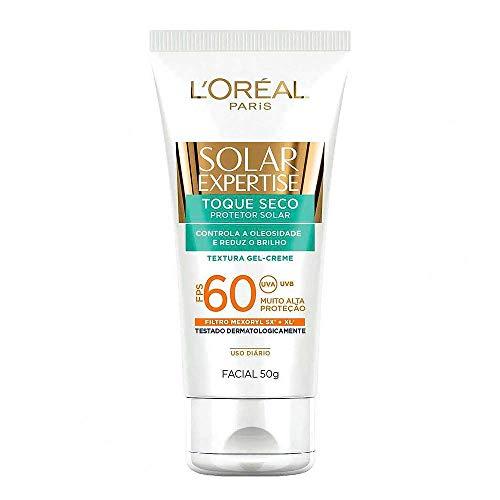 Tudo sobre 'Protetor Solar Facial com Toque Seco FPS 60 50g, L'Oréal Paris'