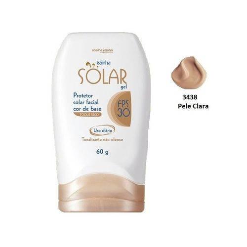 Tudo sobre 'Protetor Solar Facial Cor de Base Pele Clara FPS-30 Rainha Solar Abelha Rainha 60g'