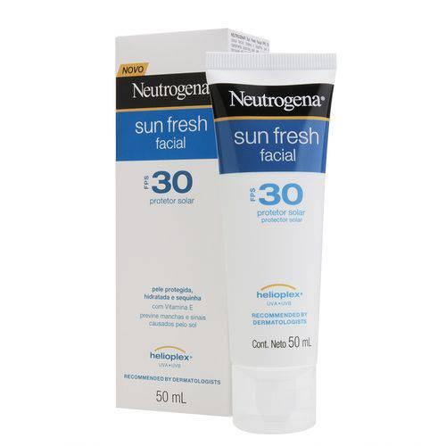 Protetor Solar Facial Neutrogena Sun Fresh FPS 30 50g