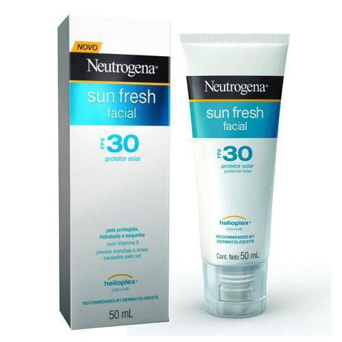 Protetor Solar Facial Neutrogena Sun Fresh Fps-30 com 50ml