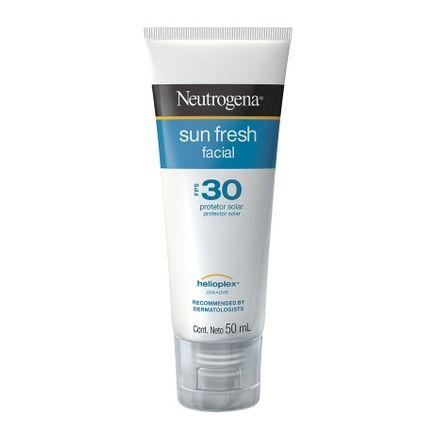 Protetor Solar Facial Neutrogena Sun Fresh FPS 30 Loção 50ml