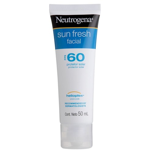 Protetor Solar Facial Neutrogena Sun Fresh FPS 60 50g
