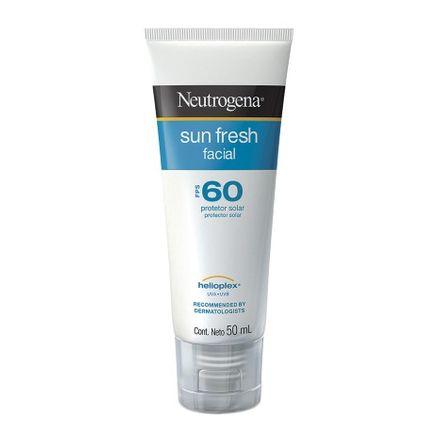 Protetor Solar Facial Neutrogena Sun Fresh FPS 60 Loção 50ml