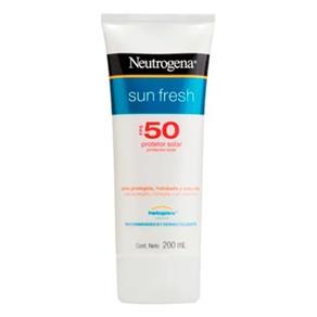 Protetor Solar Facial Neutrogena Sun Fresh FPS50 200ml