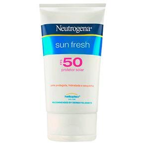 Protetor Solar Facial Neutrogena Sun Fresh FPS50 120ml