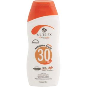 Protetor Solar FPS 30 120 Ml - Nutriex