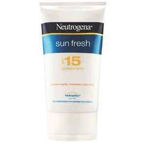 Protetor Solar FPS 15 Sun Fresh