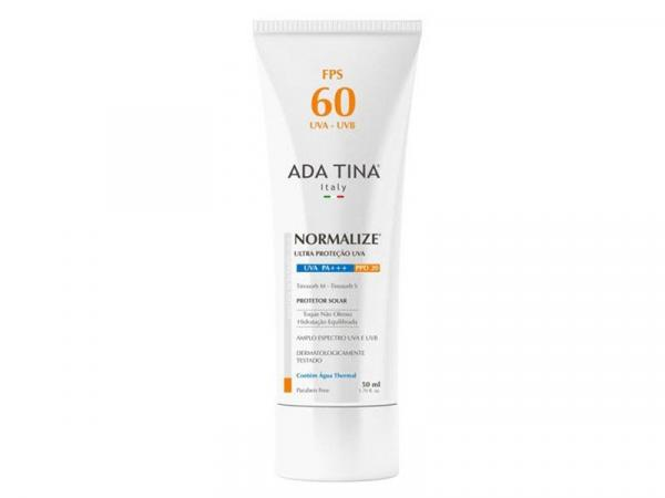 Protetor Solar FPS 60 Normalize 50ml - Ada Tina