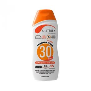 Protetor Solar Fps30 120 Ml - Nutriex