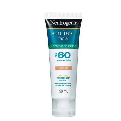 Protetor Solar Neutrogena Facial Sun Fresh Fps60 - 50ml