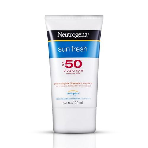 Protetor Solar Neutrogena Sun Fresh 120ml FPS 50
