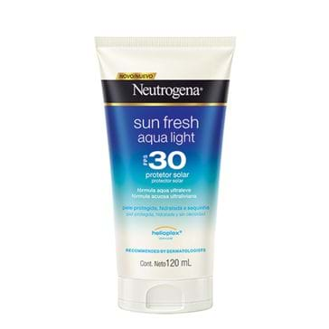 Protetor Solar Neutrogena Sun Fresh Aqua Light Fps30 120ml