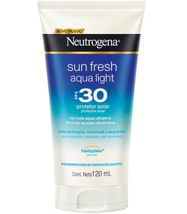 Protetor Solar Neutrogena Sun Fresh Aqua Light FPS 30 120ml