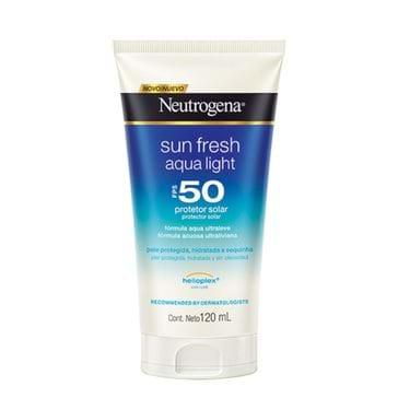 Protetor Solar Neutrogena Sun Fresh Aqua Light FPS-50 120ml