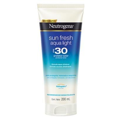 Protetor Solar Neutrogena Sun Fresh Aqua Light FPS30 200ml