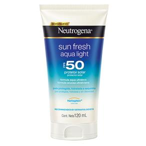 Protetor Solar Neutrogena Sun Fresh Aqua Light FPS50 - 120ml
