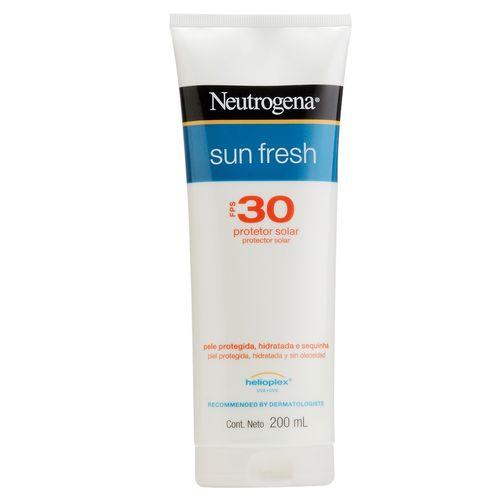 Protetor Solar Neutrogena Sun Fresh Corpo FPS 30