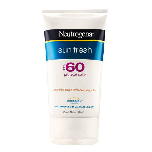 Protetor Solar Neutrogena Sun Fresh Corpo FPS 60 120ml