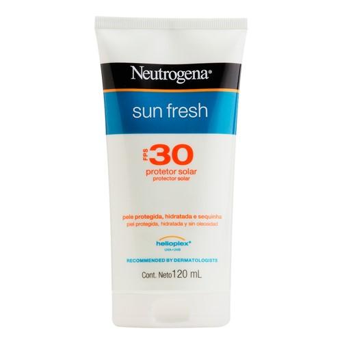 Protetor Solar Neutrogena Sun Fresh FPS 30 Loção 120ml